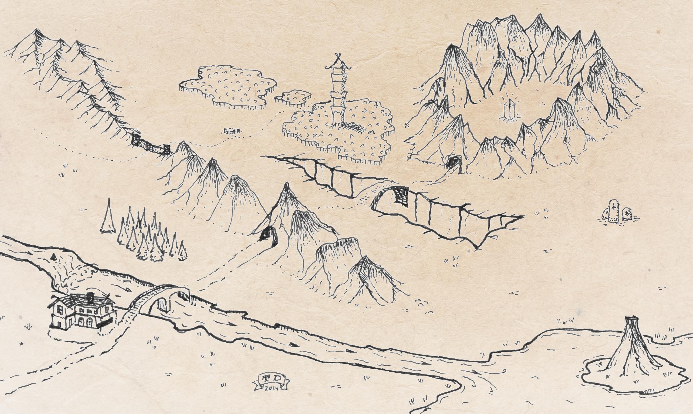map rondane also adventure