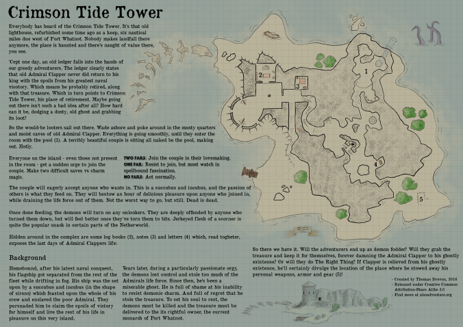 crimson tide tower